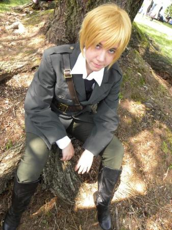 UK / England / Arthur Kirkland from Axis Powers Hetalia worn by Seta Ginny