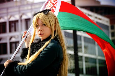 Belarus / Natalya (Natasha) Alfroskaya from Axis Powers Hetalia worn by Seta Ginny