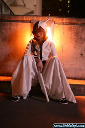 Ulquiorra Schiffer from Bleach worn by Silver Ruby