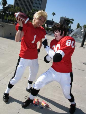 Hiruma Youichi from Eyeshield 21 worn by Silver Ruby