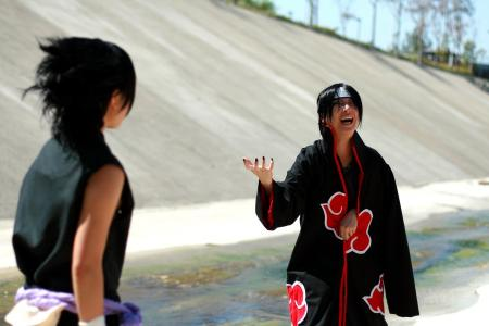 Itachi Uchiha from Naruto Shipp&#363;den worn by Silver Ruby