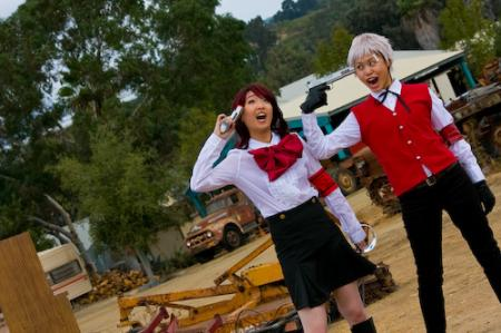 Mitsuru from Persona 3 worn by Silver Ruby