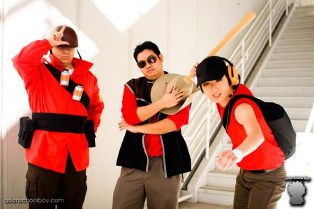 Scout from Team Fortress 2 worn by Silver Ruby