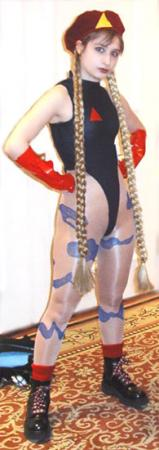 Cammy White from Street Fighter II worn by Arlette