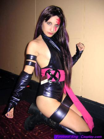 Psylocke from Marvel vs Capcom