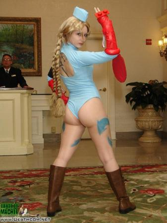 Cammy White from Street Fighter Alpha