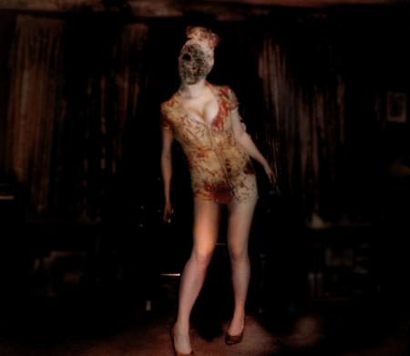 Bubble Head Nurse from Silent Hill 2 worn by nikineko