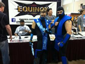 Frost from Mortal Kombat worn by nikineko