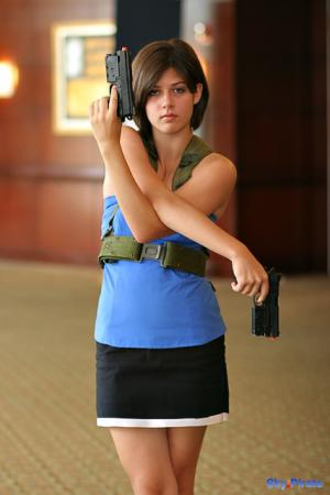 Jill Valentine from Resident Evil: The Umbrella Chronicles