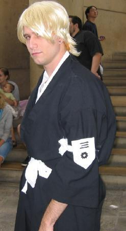 Kira Izuru from Bleach worn by Vartan