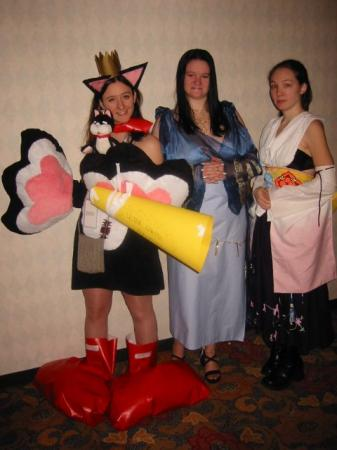 Cait Sith from Final Fantasy VII worn by Lady Somairot