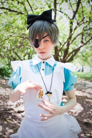 Ciel Phantomhive from Black Butler worn by Scootkadoot