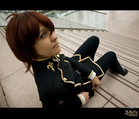 Suzaku Kururugi from Code Geass worn by Bluucircles