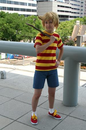Lucas from Earthbound / Mother 3 worn by Bluucircles