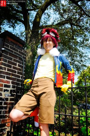 Davis / Daisuke Motomiya from Digimon Adventure 02 worn by Bluucircles