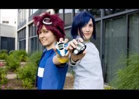 Davis / Daisuke Motomiya from Digimon Adventure 02
