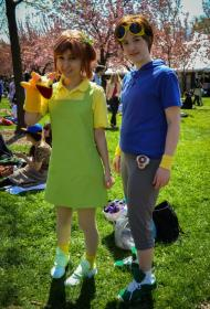 Jeri Kato / Juri Katou from Digimon Tamers worn by Bluucircles