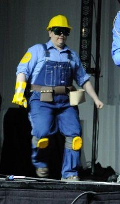Engineer from Team Fortress 2 worn by CelesMaxwell