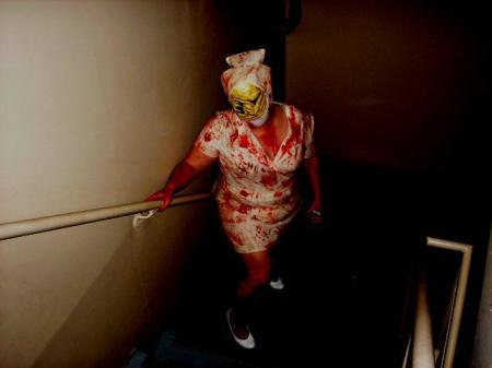 Bubblehead Nurse from Silent Hill worn by CelesMaxwell