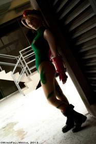Cammy from Street Fighter IV  by Starlightslk