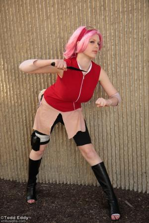 Sakura Haruno from Naruto Shippūden worn by Flaming-Goddess