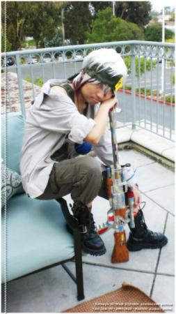 Colonello from Katekyo Hitman Reborn! worn by マコト