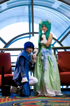 Kaito from Vocaloid worn by 
