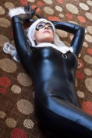 Black Cat from Spider-man worn by FantasyNinja