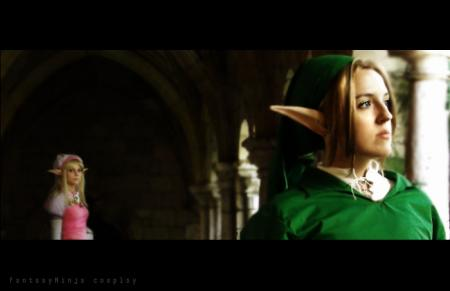 Link from Legend of Zelda: Ocarina of Time worn by FantasyNinja