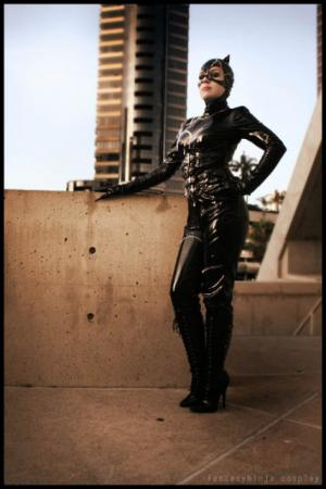 Catwoman from Batman worn by FantasyNinja