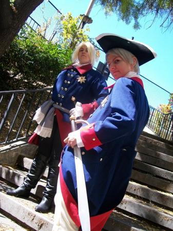 Old Fritz / Prussia's King from Axis Powers Hetalia