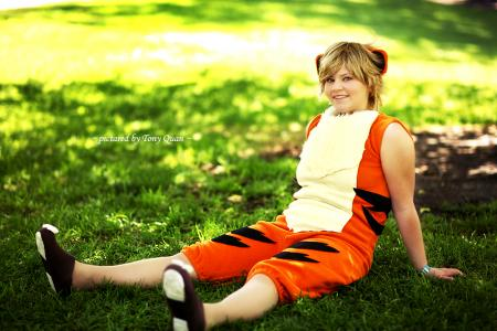 Growlithe from Pokemon worn by Miaka-chan