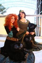 Merida from Brave worn by Sakuranym Kit