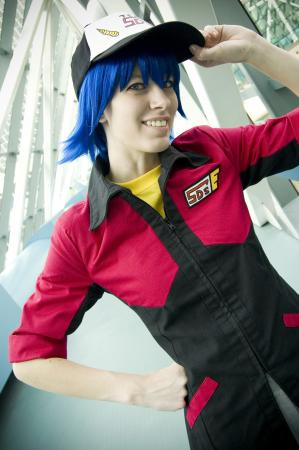 Bruno from Yu-Gi-Oh! 5Ds worn by Malindachan