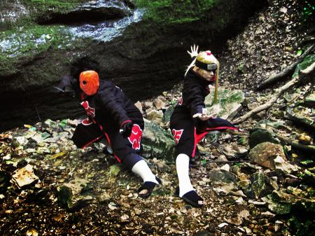 Deidara from Naruto worn by Malindachan