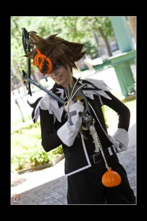 Sora from Kingdom Hearts worn by Malindachan