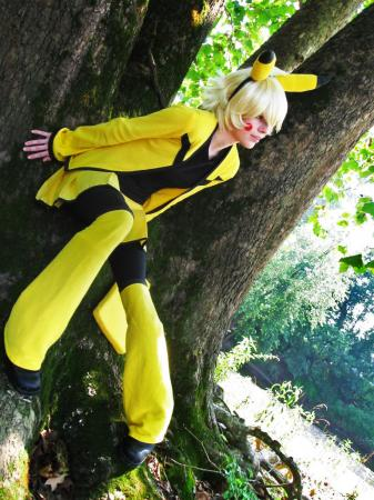 Pikachu from Pokemon worn by Malindachan