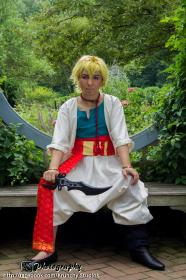 Alibaba Saluja from Magi Labyrinth of Magic worn by RadioMinmay