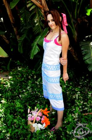 Aeris / Aerith Gainsborough from Final Fantasy VII: Crisis Core worn by Callesto