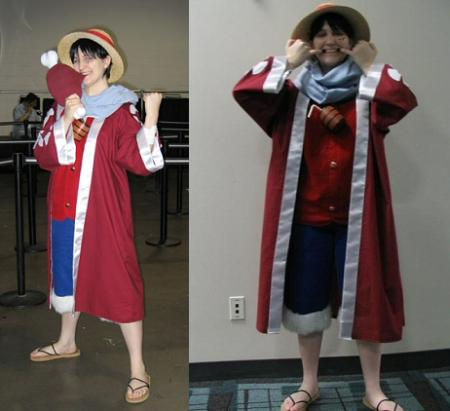Monkey D. Luffy from One Piece worn by Ameria