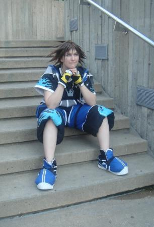 Sora from Kingdom Hearts 2 worn by Ameria