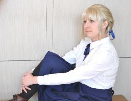 Saber from Fate/Stay Night worn by KT