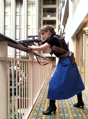 Riza Hawkeye from FullMetal Alchemist: Brotherhood worn by AVA