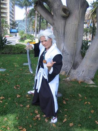 Toushiro Hitsugaya from Bleach worn by Kiyonohashi