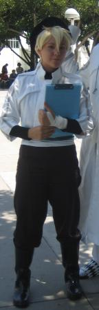 Bak Chan from D. Gray-Man worn by Spitfire