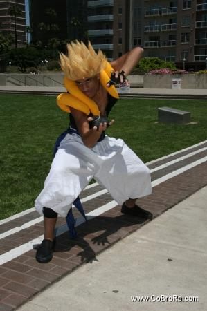 Gogeta from Dragonball Z worn by Maguma
