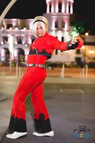Ash Crimson from King of Fighters XIII worn by Maguma