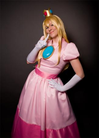 Princess Peach Toadstool from Super Mario Brothers Series worn by Sparkle Pipsi