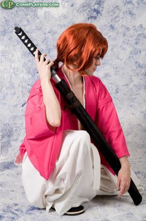 Kenshin Himura from Rurouni Kenshin worn by Fireshark