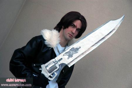 Squall Leonheart from Final Fantasy VIII worn by Fireshark